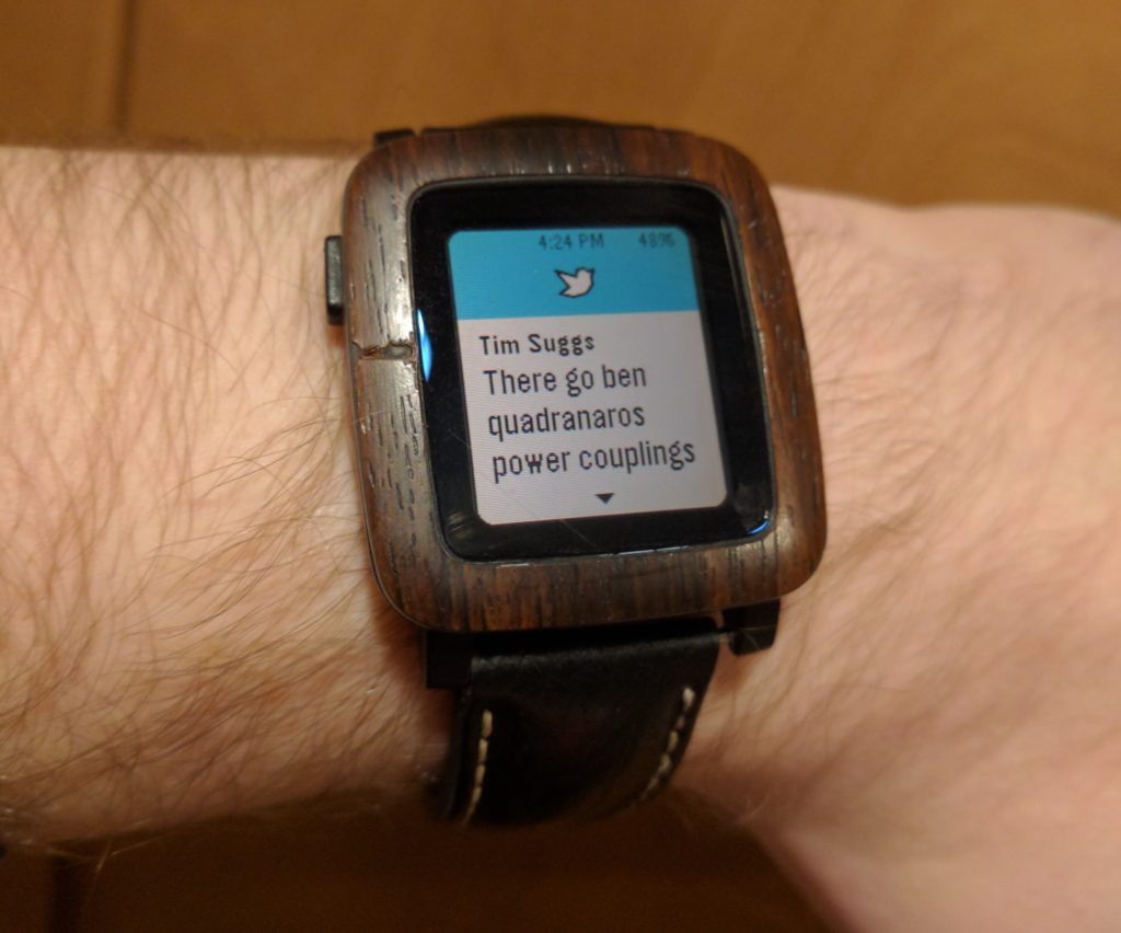 Photo of a Pebble Time